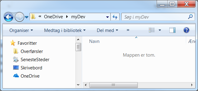 How to host your git repository on OneDrive – Per Mikkelsen